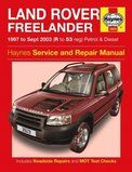 BA 3085 - Haynes service and rapair manual Freelander 1997 to 2003 - BA 3085 - Haynes service and rapair manual Freelander 1997 to 2003