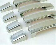 BA 4458 - Door handle set stainless steel Disco 3 - BA 4458 - Door handle set stainless steel Disco 3