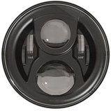 """LED80BL-HQ (zwart) - 7"""" round LED headlamp 12/24V BLACK 80Watt (EACH) - LED80BL-HQ (zwart) - 7"""" round LED headlamp 12/24V BLACK 80Watt (EACH)"""