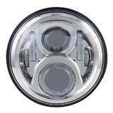 "LED80CH-HQ(chrome) - 7"" round LED headlamp 12/24V CHROME 80Watt (EACH) - LED80CH-HQ(chrome) - 7"" round LED headlamp 12/24V CHROME 80Watt (EACH)"