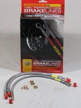 Remmen - Land Rover Series 3 - BA 157 - Brake hose kit stainless steel embroidered Serie 2a 88/109
