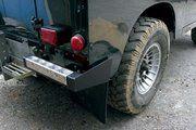 Bescherming buitenzijde - Land Rover Series 3 - BA 290 - Rear bumperettes HD black (pair)