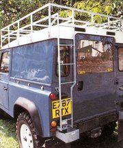 Dakdragers - Land Rover Series 2 - BA 010 - Access ladder round thin type