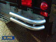 Bescherming buitenzijde - Land Rover Series 3 - BA 090G - Bumperettes galvanised
