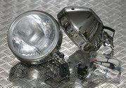 Verlichting - Land Rover Series 2 - BA 3035S - Spotlights stainless steel (pair)
