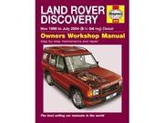 Boeken - BA 3031A - Discovery 2 Workshop Manual TD5 only 1999 - 2004