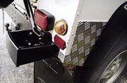 Traanplaat - BA 124 - Defender rear wing protector 90