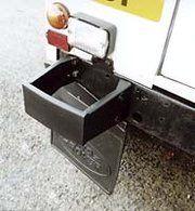 Bescherming buitenzijde - RRC2971 - Rear bumperette LH