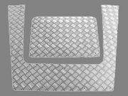 Traanplaat - BA 120C - Bonnet strengthener Defender aluminium
