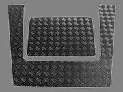 Traanplaat - Defender 2007 > - BA 120D - Bonnet Strengthener Def 07 Black