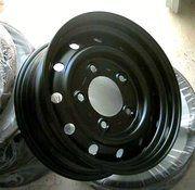 Land Rover - ANR4583PM - Wolf rim 6,5x16 tubeless GENUINE LR (MATT BLACK)