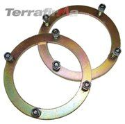 Terra Firma - Range Rover Classic tot 1985 - TF502 - Front shock turret securing rings pair TERRA FIRMA