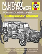 Boeken - BBPH5080 - Haynes Military Land Rover Enthusiasts' Manual
