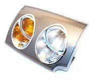 Electrische onderdelen - XBD000043 - Lamp side flasher front RH GENUINE LR NLA