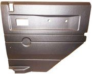 Deurpanelen - Defender 1983-2006 - BA 2763 - Defender rear side door panel RH black (electric windows)