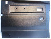 Interieur - BA 2771 - Front door casing 90/110 LH black (manual windows)