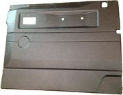 Interieur - BA 2772 - Front door casing 90/110 RH black (electric windows)