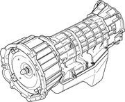 Automatische versnellingsbakken - TGD000220E - Automatic Gearbox Disco II TD5 (Exchange) *
