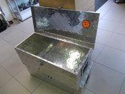 Diversen - Land Rover Series 2 - 50.61.51 - Aluminium toolbox 77x34x25cm with lock