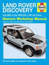 Boeken - BA 3031B - Discovery 3 Haynes Manual