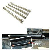RVS bevestigingsmateriaal - Land Rover Series 3 - 334121SS - Vent pins stainless steel (4 pieces)