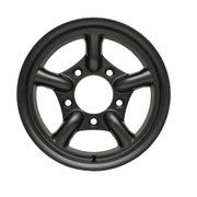 Range Rover Classic tot 1985 - DA2471 - 16x8 MaxXtrac Alloy Wheel by Mach 5 Satin Black