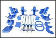 Range Rover Classic 1986 - 1994 - TF241 - Terrafirma hydraulic bump stop and mounting kit for 90/D1/RRC