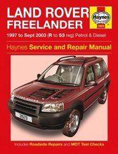 Boeken - BA 3085 - Haynes service and rapair manual Freelander 1997 to 2003