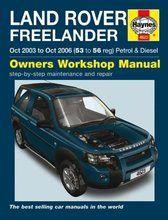 Boeken - BA 3085A - Haynes owners workshop manual Freelander 2003 to 2006