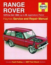 Diversen - BA 3088 - Haynes Range Rover