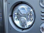 "Verlichting-LED - Defender 1983-2006 - DA6283 - LED koplampen LYNX EYE 7"" LHD * (pair))"