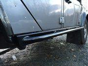 Bescherming buitenzijde - TF810 - Terrafirma rock sliders Black with tree bars 110