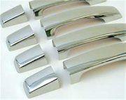 Accessoires - Discovery 3 - BA 4458 - Door handle set stainless steel Disco 3