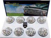 2,25 ltr petrol - Land Rover Series 3 - DA1191 - Clear lens led light kit incl. relay WIPAC