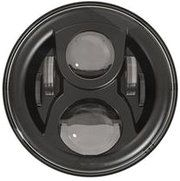 """Range Rover - LED80BL-HQ (zwart) - 7"""" round LED headlamp 12/24V BLACK 80Watt (EACH) ALTERNATIEF: LED78BL"""