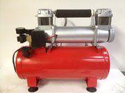 Accessoires - Defender 1983-2006 - PRO-WINCH 8 ltr 12 - PRO-WINCH tyre compressor 8 liter 12 volt
