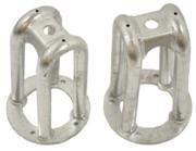 Schokdempers - NRC6372HD - Tubular turret galvanised (pair)