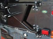 Land Rover Series 3 - DA2232 - Swing away spare wheel carrier Def / Series