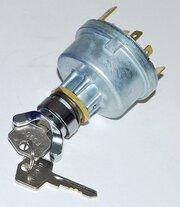 Land Rover Series 2 - PRC2734R - Ignition Starter Switch & Key replacement
