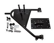 Accessoires exterieur - VPLDR0130 - Spare wheel carrier swingaway Defender from 2002 on OEM