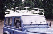 Dakdragers - Defender 1983-2006 - BA 007 - Roof rack swb galvanised (flat pack)