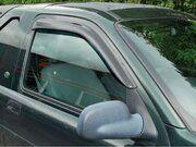 Accessoires exterieur - DA6073 - WIND DEFLECTOR SET 2 door Freelander 1
