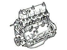 Motor - Land Rover Series 2 - 2.25 Petrol - Land Rover Series 2