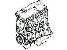 Motor - Defender 1983-2006 - 2.5 Diesel 5-cil. TD5 - Defender 1983-2006