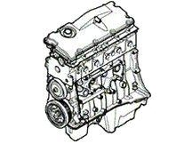 Motor - Range Rover Classic 1986 - 1994 - 2.5 Diesel 5-cil. TD5 - Range Rover Classic 1986 - 1994